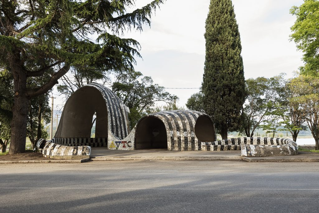 The Soviet bus stops of Abkhazia