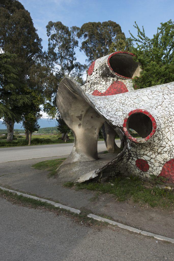 The Soviet bus stops of Abkhazia