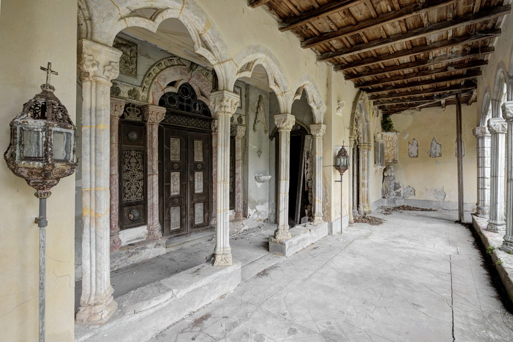 forgotten convent France lost